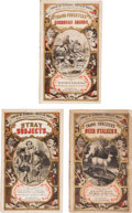 Books:Literature Pre-1900, Three Handsome Titles from the Library of Humorous AmericanWorks Series. All books published in Philadelphia by... (Total:3 Items)