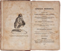 Books:Food & Wine, Dick Humelbergius Secundus. Apician Morsels. New York: J.& J. Harper, 1829. First American edition. Twelvemo. 212, ...