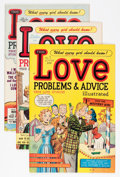 Golden Age (1938-1955):Romance, True Love Problems and Advice Illustrated File Copy Group (Harvey,1949-58) Condition: Average VF.... (Total: 50 Comic Books)