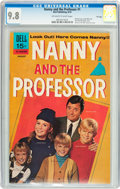 Bronze Age (1970-1979):Humor, Nanny and the Professor #1 File Copy (Dell, 1970) CGC NM/MT 9.8Off-white to white pages....