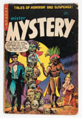 Golden Age (1938-1955):Horror, Mister Mystery #17 (Aragon, 1954) Condition: GD/VG....
