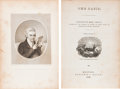Books:Americana & American History, [Lydia Marie Child, editor]. The Oasis. Boston: Benjamin C.Bacon, 1834. First edition. Sixteenmo. xvi, 276 page...