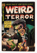 Golden Age (1938-1955):Horror, Weird Terror #9 (Comic Media, 1954) Condition: GD/VG....