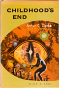Books:Science Fiction & Fantasy, Arthur C. Clarke. Childhood's End. New York: Ballantine,[1953]. First edition, first printing. Octavo. 214 pages. P...