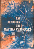 Books:Science Fiction & Fantasy, Ray Bradbury. The Martian Chronicles. Garden City: Doubleday & Company, 1950. First edition. Inscribed and sig...