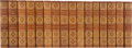 Books:Fine Bindings & Library Sets, Edward Bulwer Lytton. [Works]. Boston: Dana Estes, [n.d., ca. 1900]. Warwick Edition, one of 1,000 numbered copi... (Total: 32 Items)