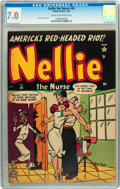 Golden Age (1938-1955):Romance, Nellie the Nurse #36 (Timely/Marvel, 1952) CGC FN/VF 7.0 Cream tooff-white pages....