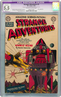 Golden Age (1938-1955):Science Fiction, Strange Adventures #3 (DC, 1950) CGC Apparent FN- 5.5 Slight (A)Off-white to white pages....