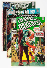 Bernie Wrightson Comics Covers Only Group (Marvel, 1970s).... (Total: 6 Items)