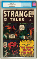 Silver Age (1956-1969):Science Fiction, Strange Tales #92 (Marvel, 1962) CGC VG/FN 5.0 Off-white pages....