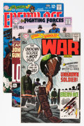 Memorabilia:Comic-Related, Joe Kubert DC Covers Only Group (DC, 1970s).... (Total: 26 Items)