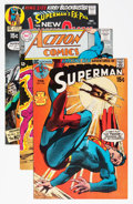 Memorabilia:Comic-Related, Neal Adams Superman/Superboy Related Comic Covers Only Group (DC, 1970s).... (Total: 60 Items)