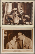 """Movie Posters:Drama, Flame of Youth & Other Lot (Fox, 1920). Lobby Cards (2) (11"""" X 14""""). Drama.. ... (Total: 2 Items)"""