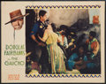 "Movie Posters:Adventure, The Gaucho (United Artists, 1927). Lobby Card (11"" X 14"").Adventure.. ..."