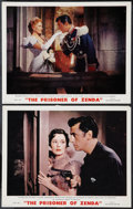 "Movie Posters:Adventure, The Prisoner of Zenda (MGM, 1952). Deluxe Lobby Cards (2) (11"" X14""). Adventure.. ... (Total: 2 Items)"