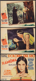 "Movie Posters:Romance, Ramona (United Artists, 1928). Title Lobby Card & Lobby Cards (2) (9.75"" X 13""). Romance.. ... (Total: 3 Items)"