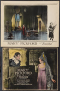 "Movie Posters:Romance, Rosita (United Artists, 1923). Title Lobby Card (10.25"" X 13.25"") & Lobby Card (11"" X 14""). Romance.. ... (Total: 2 Items)"