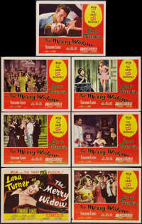 """The Merry Widow (MGM, 1952). Title Lobby Card & Lobby Cards (6) (11"""" X 14""""). Musical. ... (Total: 7 Items)"""