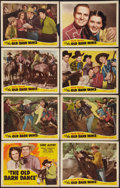 "Movie Posters:Western, The Old Barn Dance (Republic, R-1940s). Lobby Card Set of 8 (11"" X 14""). Western.. ... (Total: 8 Items)"