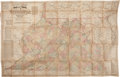 "Books:Maps & Atlases, J. T. Lloyd. Lloyd's Official Map of the State of Virginia.New York: J. T. Lloyd, 1862. 46"" x 30"". A large line..."
