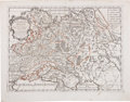 Books:Maps & Atlases, Guglielmo Sansone. Russia Bianca e Moscovia. Roma: 1678. Hand-colored map depicting Russia. In very good condition w...