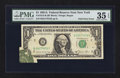 Error Notes:Foldovers, Fr. 1912-B $1 1981A Federal Reserve Note. PMG Choice Very Fine 35EPQ.. ...