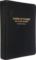 Books:Science Fiction & Fantasy, Stanley Weinbaum. Dawn of Flame and Other Stories. Jamaica,NY: Ruppert Printing Service, 1936. First edition, C...