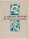 Books:Literature 1900-up, William Faulkner. A Green Bough. New York: Harrison Smithand Robert Haas, 1933. Limited edition, one of 360 copies,...
