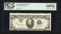 Error Notes:Inverted Third Printings, Fr. 2076-J $20 1988A Federal Reserve Note. PCGS Very Choice New64PPQ.. ...
