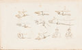 Books:Americana & American History, [D. C. Johnston, illustrator]. William Russell. Rudiments ofGesture, Comprising Illustrations of Common Faults in Attit...
