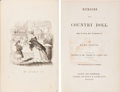 Books:Americana & American History, [D. C. Johnston, illustrator]. Mary Curtis. Memoirs of a CountryDoll. Written by Herself. Boston and Cambridge: Jam...