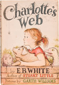 Books:Children's Books, E. B. White. Charlotte's Web. Pictures by Garth Williams.New York: Harper & Brothers, Publishers, [1952]. First...