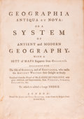 Books:Maps & Atlases, L'Abbé du Fresnoy. Geographica Antiqua et Nova: or aSystem of Antient and Modern Geography, with a Sett of MapsE...