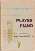 Books:Science Fiction & Fantasy, Kurt Vonnegut, Jr. Player Piano. New York: CharlesScribner's Sons, 1952. First edition. Delightfully inscribe...