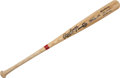 Baseball Collectibles:Bats, Mike Schmidt Game Issued, Signed Bat....