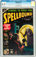 Golden Age (1938-1955):Horror, Spellbound #16 (Atlas, 1953) CGC FN+ 6.5 Off-white to whitepages....
