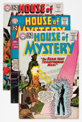 Silver Age (1956-1969):Horror, House of Mystery Group (DC, 1962-65) Condition: Average VG/FN....(Total: 5 Comic Books)