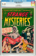 Golden Age (1938-1955):Horror, Strange Mysteries #1 (Superior, 1951) CGC VG/FN 5.0 Off-whitepages....