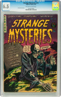 Golden Age (1938-1955):Horror, Strange Mysteries #11 (Superior, 1953) CGC FN+ 6.5 Off-white towhite pages....