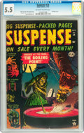 Golden Age (1938-1955):Horror, Suspense #24 (Atlas, 1952) CGC FN- 5.5 Off-white to white pages....