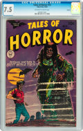 Golden Age (1938-1955):Horror, Tales of Horror #13 Circle 8 pedigree (Toby Publishing, 1954) CGCVF- 7.5 Off-white to white pages....