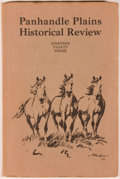 Books:Americana & American History, [J. Evetts Haley]. SIGNED. Six Issues of the Panhandle-PlainsHistorical Review, One of Which is Signed by Haley. Ca...