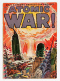 Golden Age (1938-1955):Science Fiction, Atomic War! #1 (Ace, 1952) Condition: GD/VG....