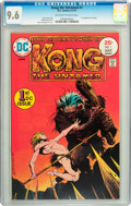 Bronze Age (1970-1979):Miscellaneous, Kong the Untamed #1 (DC, 1975) CGC NM+ 9.6 Off-white to whitepages....