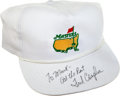Golf Collectibles:Autographs, Fred Couples Signed Hat....