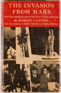 Books:Science Fiction & Fantasy, [Jerry Weist]. Hadley Cantril. The Invasion from Mars. Princeton: Princeton University Press, 1940. First editio...
