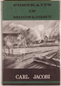 Books:Horror & Supernatural, [Jerry Weist]. Carl Jacobi. Portraits in Moonlight. SaukCity: Arkham House, 1964. First edition, first printing. Oc...