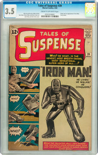 Tales of Suspense #39 (Marvel, 1963) CGC VG- 3.5 Cream to off-white pages