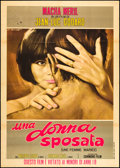 "Movie Posters:Foreign, Une Femme Mariée (Columbia, 1964). Italian 2 - Foglio (39"" X 55"").Foreign.. ..."