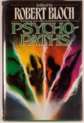 Books:Horror & Supernatural, [Jerry Weist]. Robert Bloch [editor]. SIGNED. Psycho-Paths.New York: TOR, [1991]. First edition, first printing...